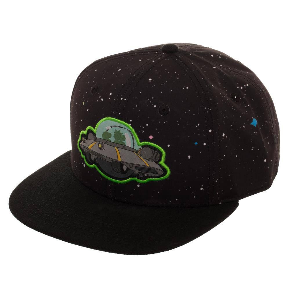 Rick & Morty Snap Back Cap Spaceship