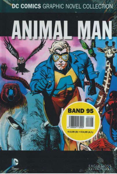 DC Comics Graphic Novel Collection #95 Animal Man Case (12) *German Version*
