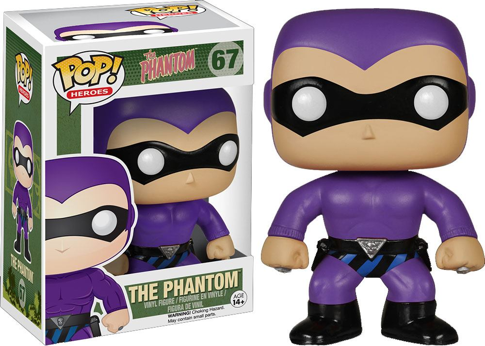 The Phantom POP! Heroes Vinyl Figure The Phantom 10 cm