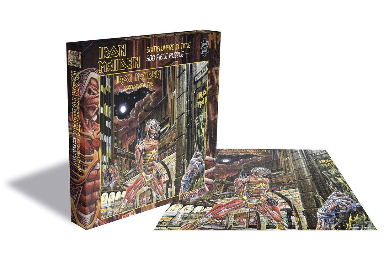 Iron Maiden Puzzle Somewhere in Time