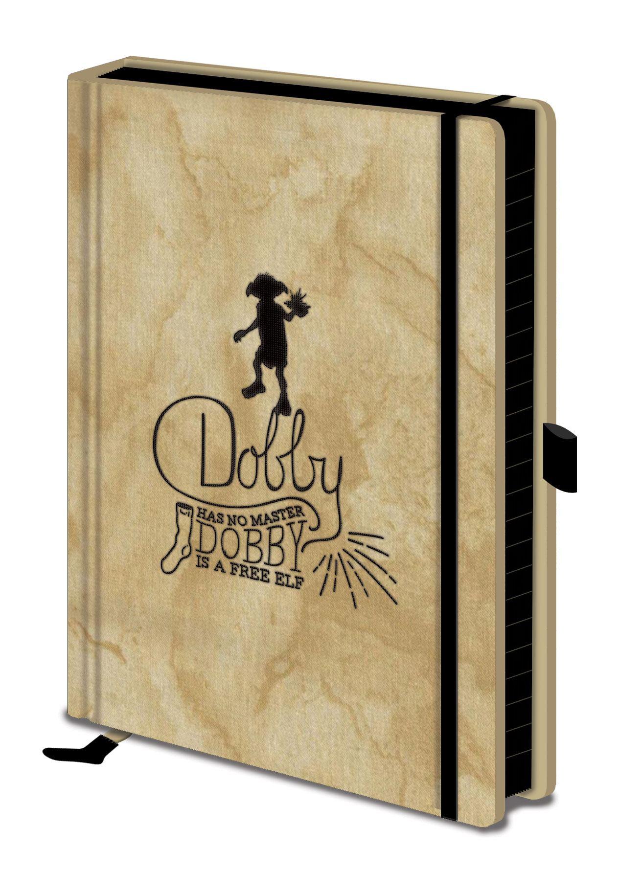 Harry Potter Premium Notebook A5 Dobby