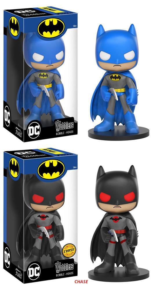 DC Comics Wacky Wobbler Bobble-Head 16 cm Batman Assortment (6)
