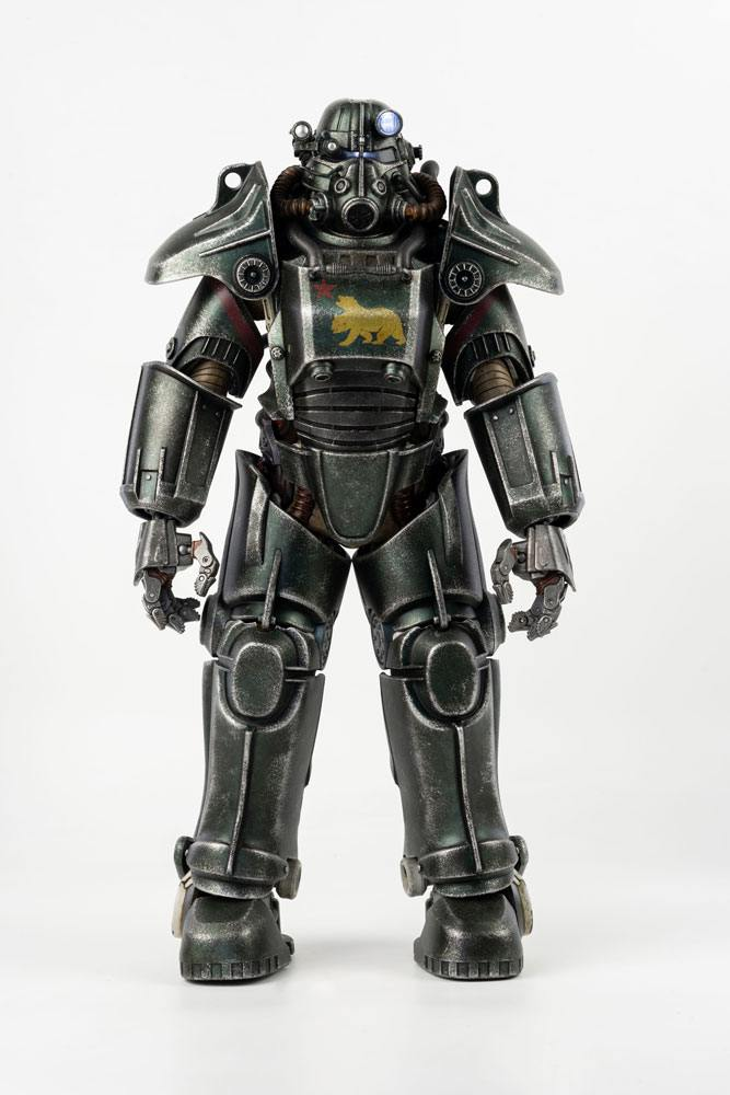 Fallout 4 Action Figure 1/6 T-45 NCR Salvaged Power Armor 36 cm