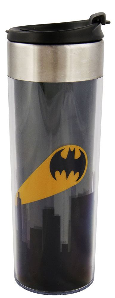 Batman Travel Mug Logo