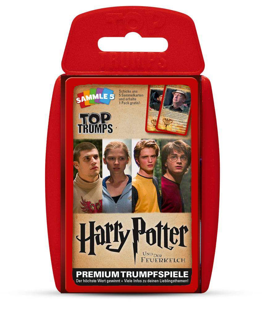 Harry Potter and the Goblet of Fire Top Trumps *German Version*