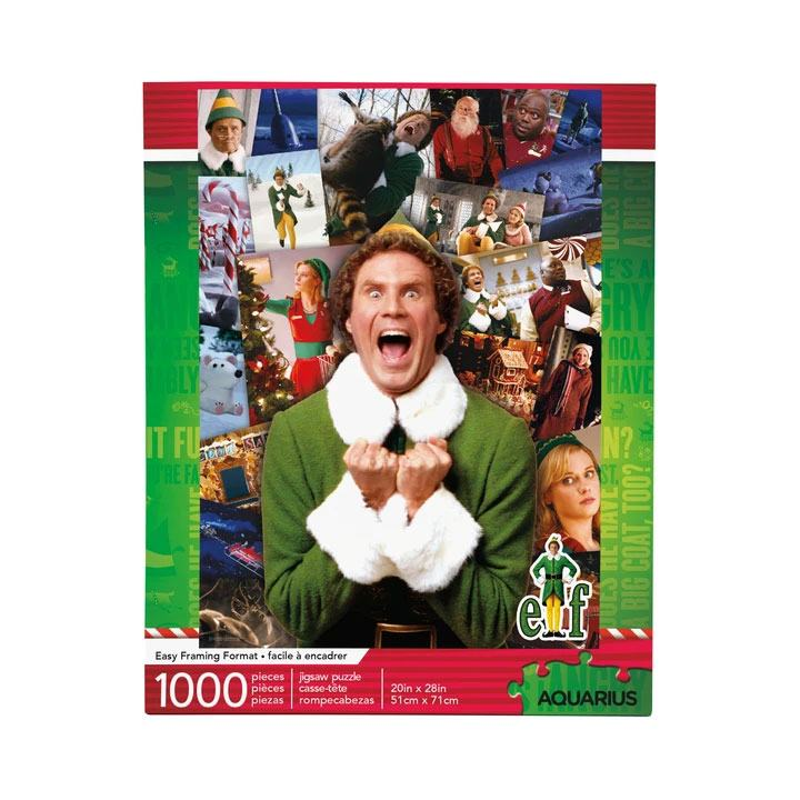 Elf Jigsaw Puzzle Collage (1000 pieces)