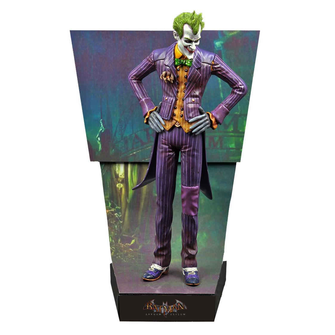 Batman Arkham Asylum Premium Motion Statue The Joker 25 cm