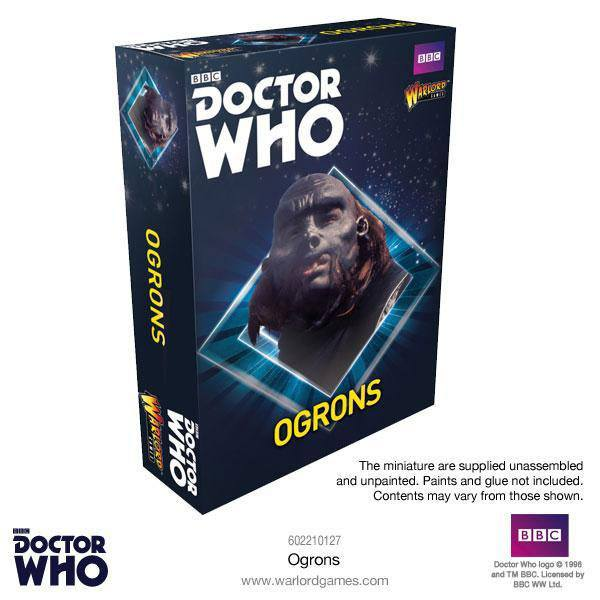 Doctor Who Exterminate! Miniatures Ogrons *English Version*
