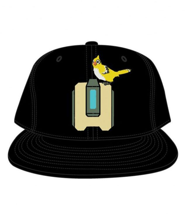 Overwatch Snap Back Cap Bastion