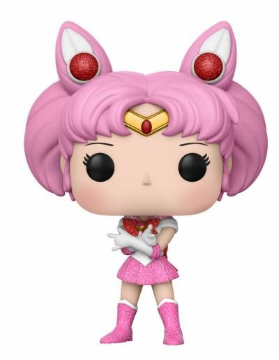 Sailor Moon POP! Animation Vinyl Figure Sparkle Glitter Sailor Chibi Moon 9 cm