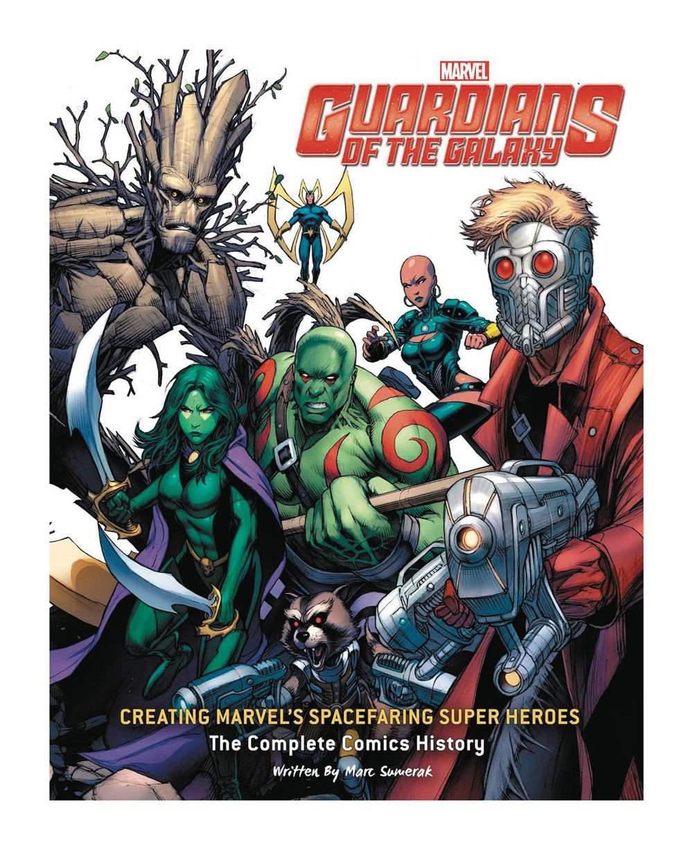 Guardians of the Galaxy Art Book Creating Marvel's Spacefaring Super Heroes