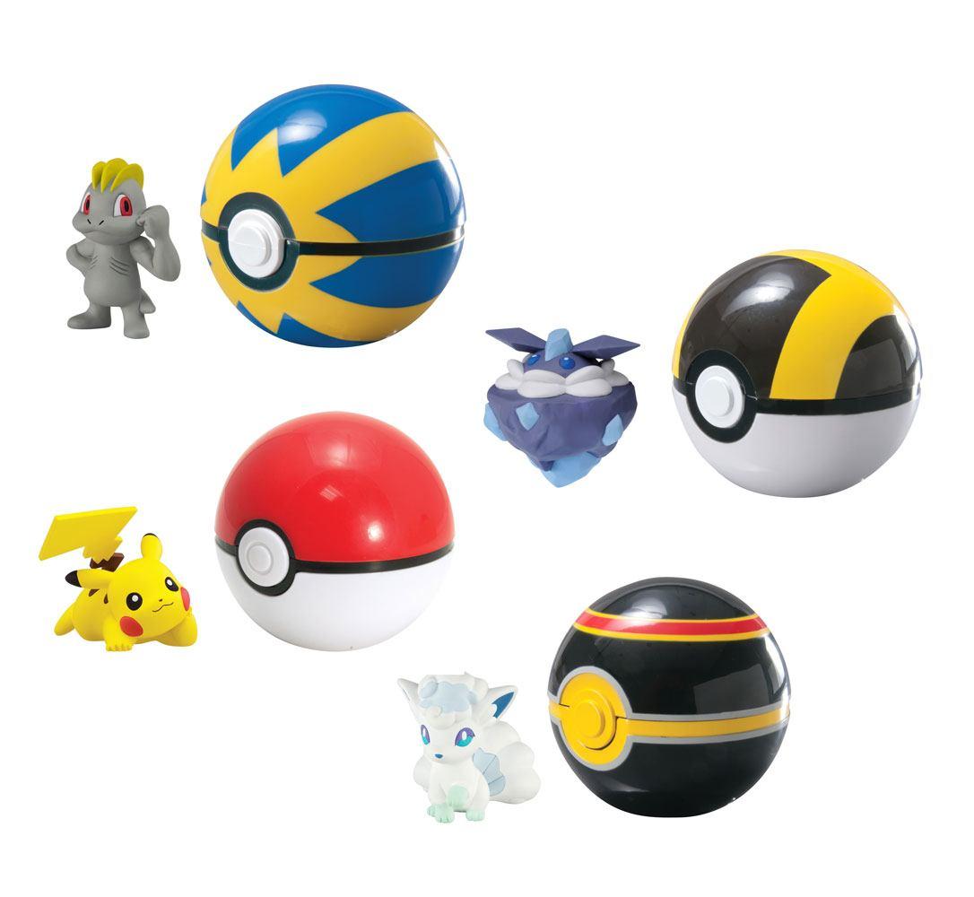 Pokemon Clip´n´Carry Poké Ball Wave D13 Assortment (6)