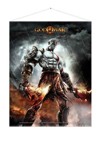 God of War Wallscroll WAR 100 x 77 cm