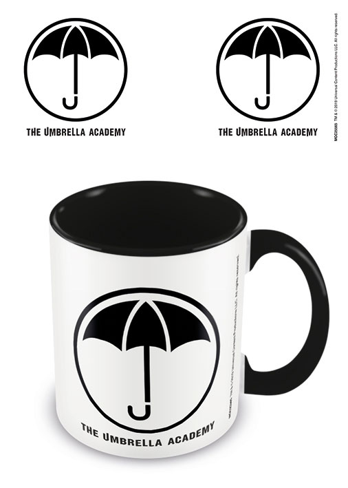 The Umbrella Academy Coloured Inner Mug Logo