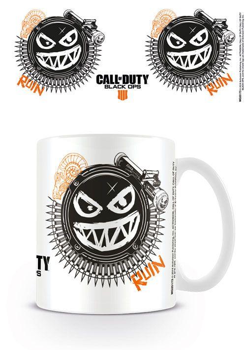 Call of Duty Black Ops 4 Mug Ruin Smile Icon