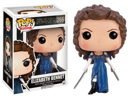 Pride + Prejudice + Zombies POP! Movies Vinyl Figure Elizabeth Bennet 9 cm