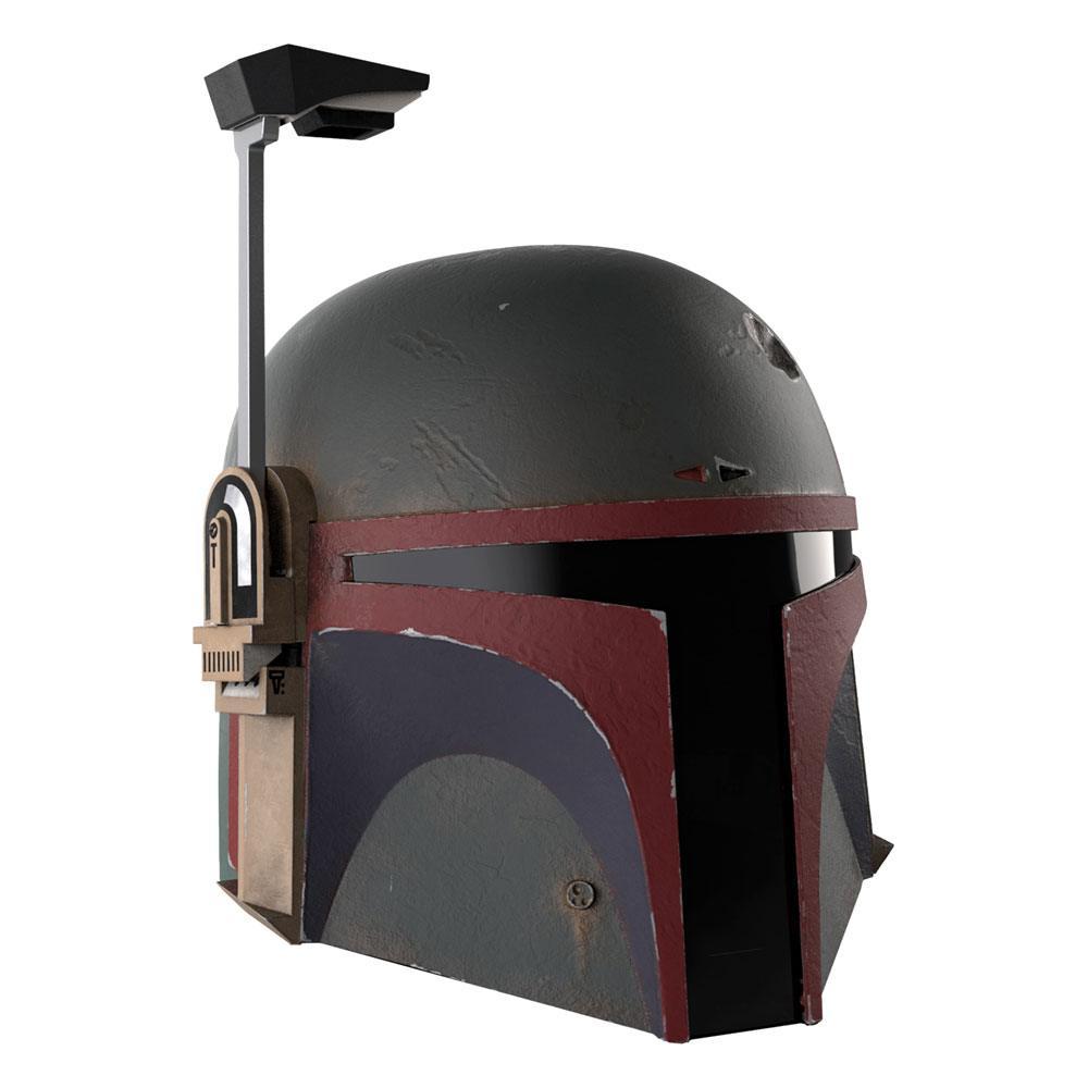 Star Wars The Mandalorian Black Series Electronic Helmet Boba Fett (Re-Armored)