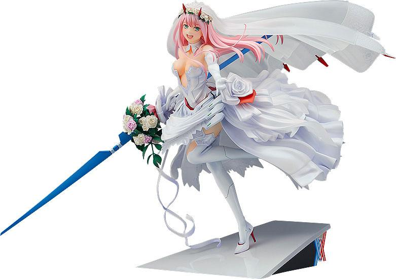 Darling in the Franxx PVC Statue 1/7 Zero Two: For My Darling 27 cm