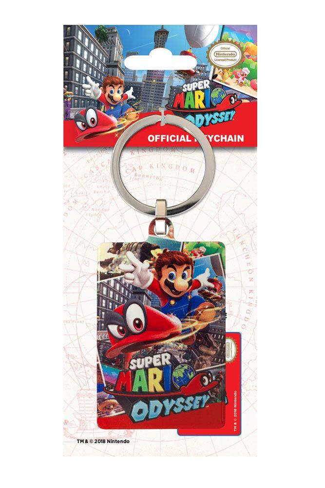 Super Mario Odyssey Metal Keychain Cover 6 cm