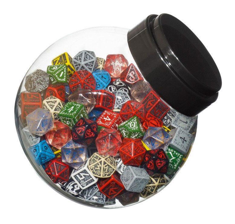 Jar of Dice D6, D10, D20 (150)