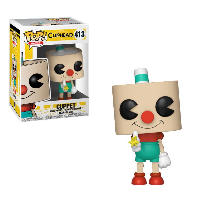 Cuphead POP! Games Vinyl Figure Cuppet 9 cm