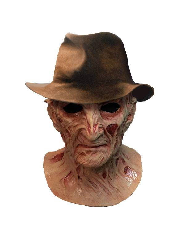 A Nightmare on Elm Street 4: The Dream Master Deluxe Latex Mask with Hat Freddy Krueger