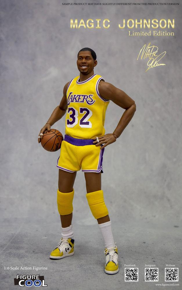 NBA Collection Action Figure 1/6 Magic Johnson Limited Edition 30 cm