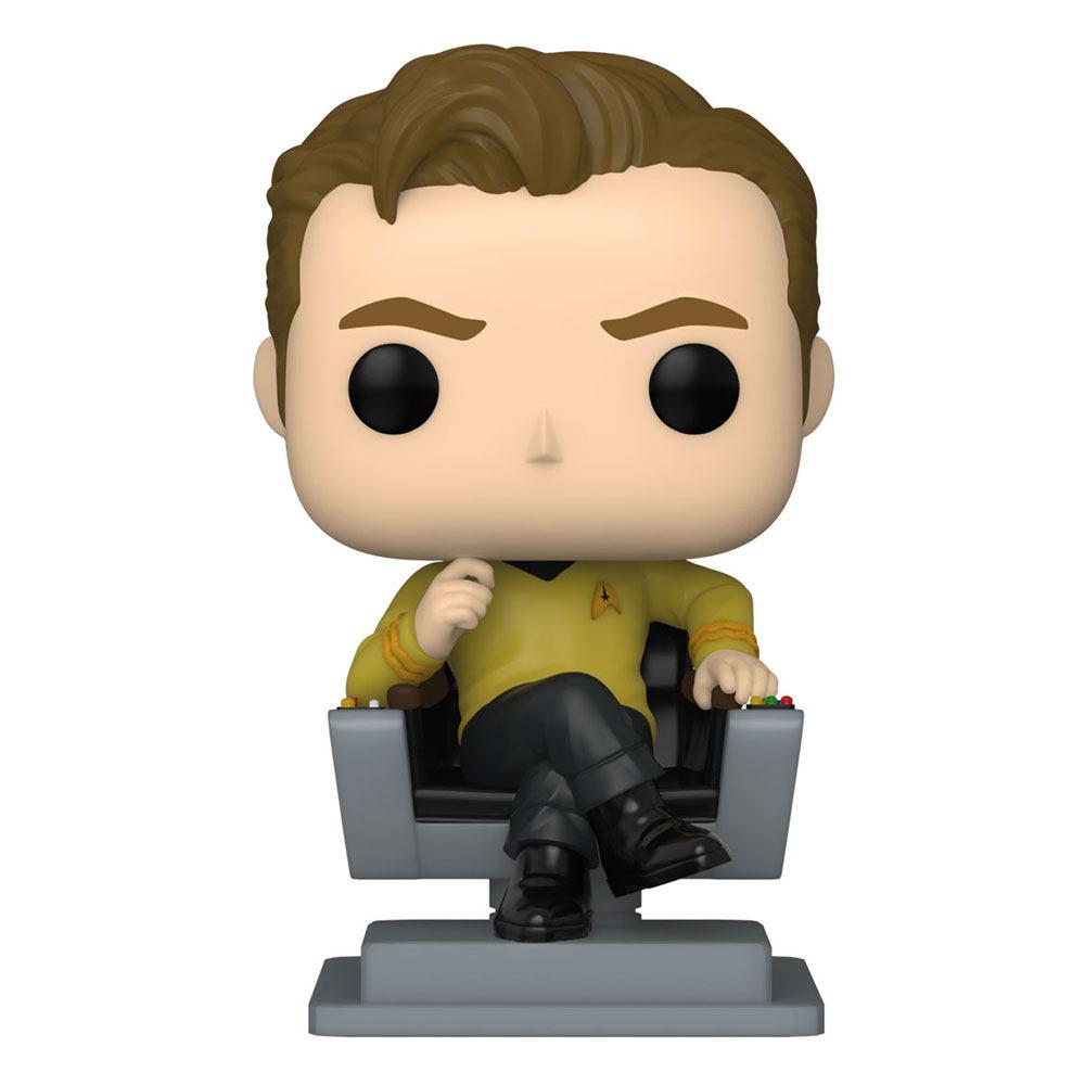 Star Trek: The Original Series POP! TV Vinyl Figure Cap Kirk in Chair 9 cm