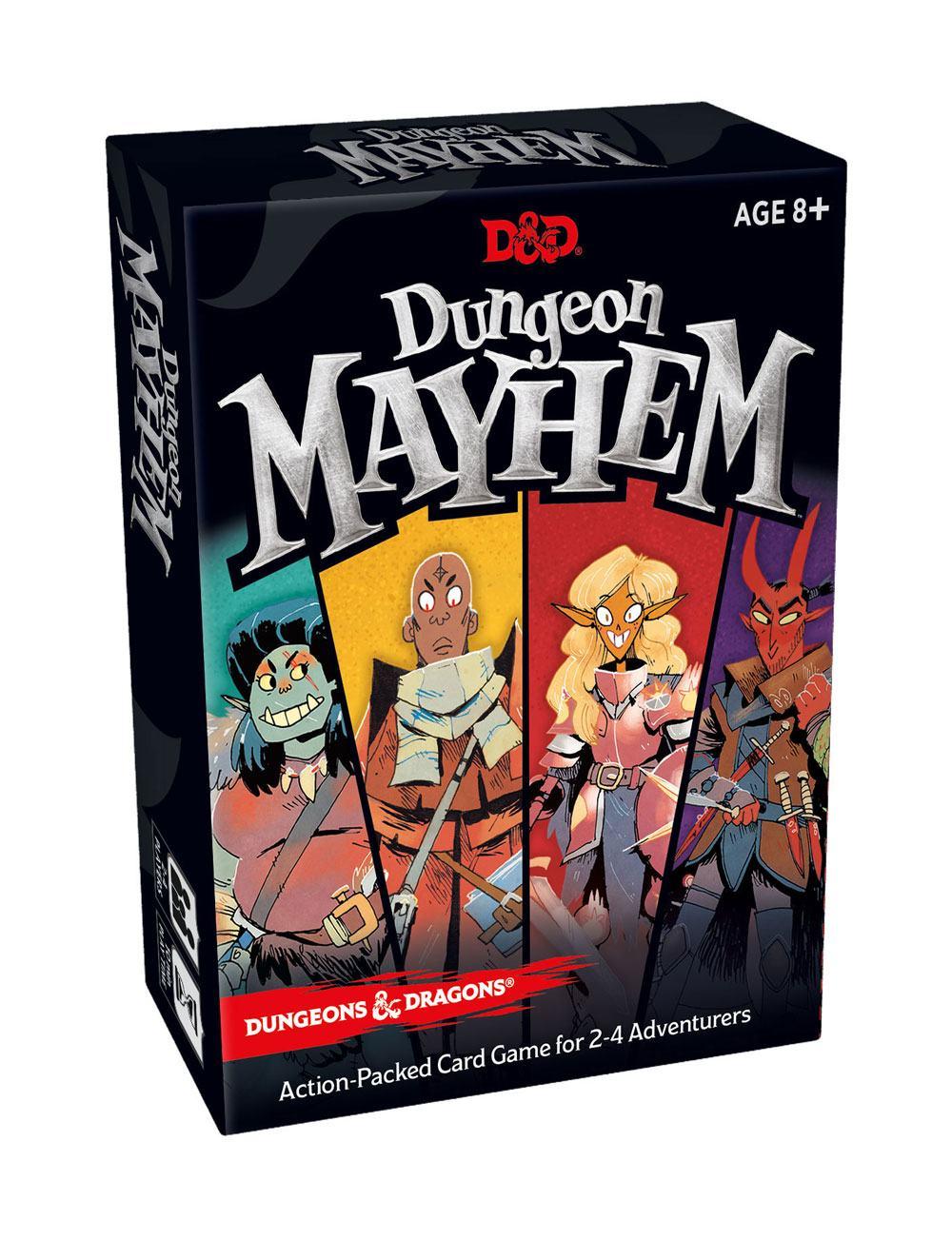 Dungeons & Dragons Card Game Dungeon Mayhem english