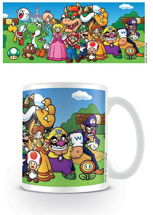 Super Mario Mug Group