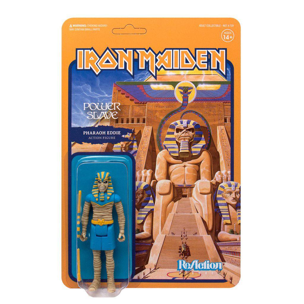 Iron Maiden ReAction Action Figure Powerslave (Pharaoh Eddie) 10 cm