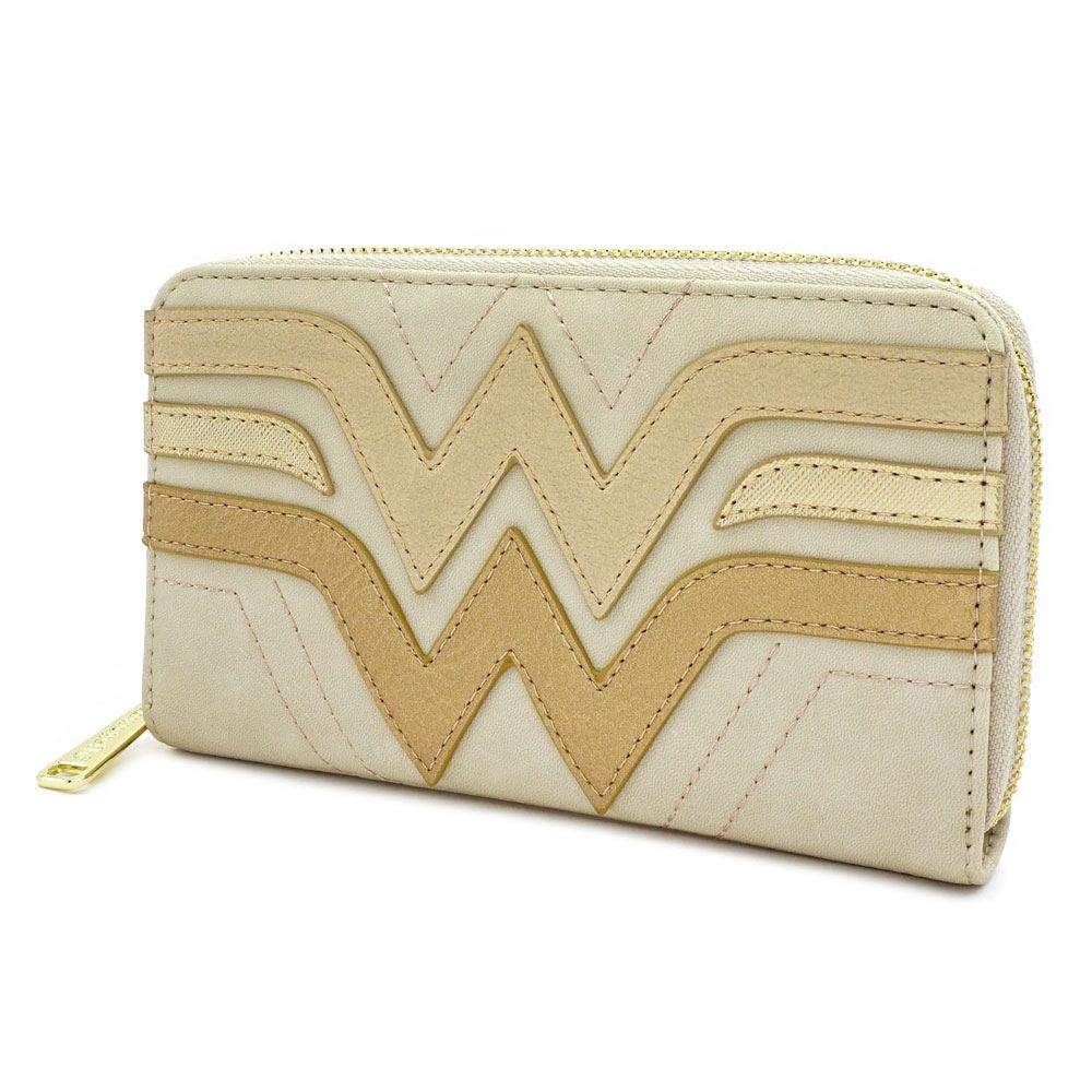 Wonder Woman by Loungefly Purse Golden Logo