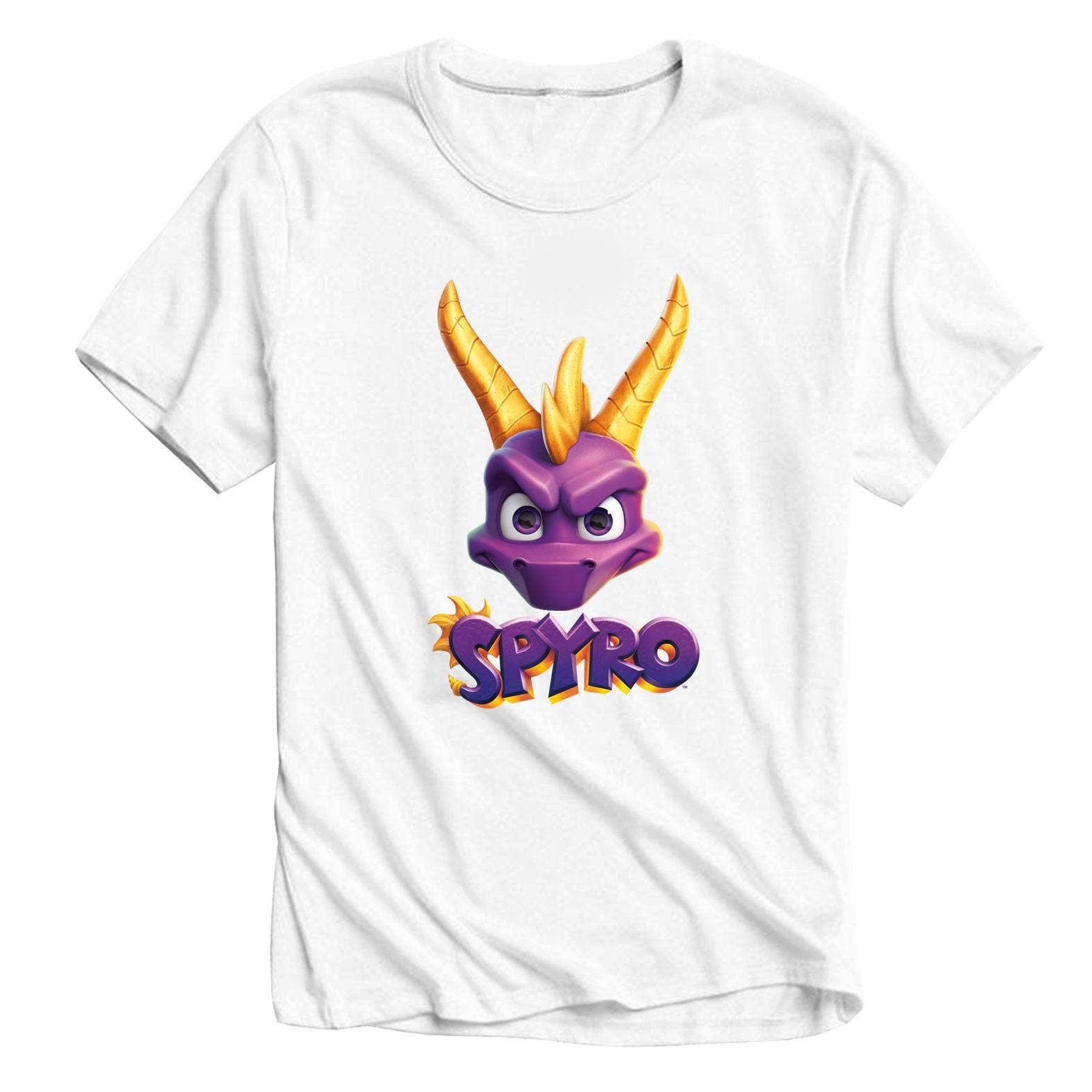 Spyro T-Shirt Face Logo Size L