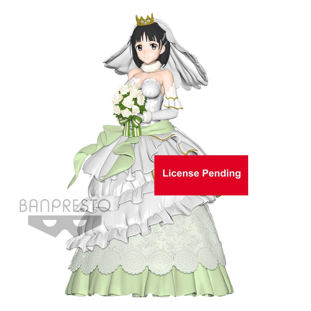 Sword Art Online Code Register EXQ Figure Wedding Suguha 23 cm