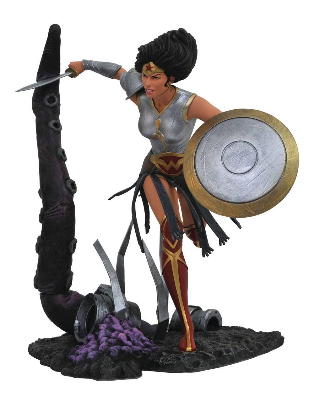 DC Comic Gallery PVC Statue Dark Knights Metal Wonder Woman 23 cm