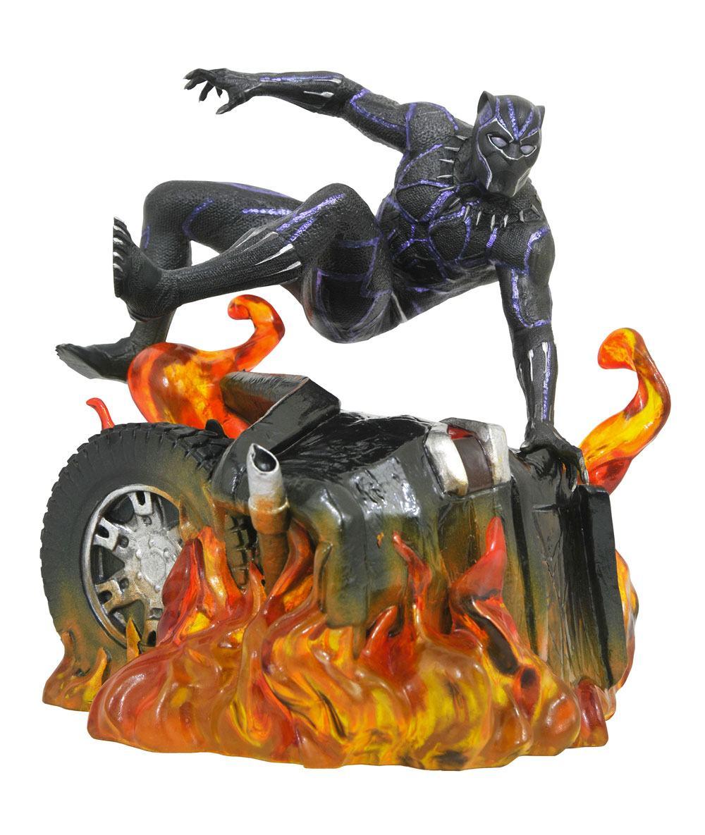 Black Panther Marvel Movie Gallery PVC Statue Black Panther Version 2 23 cm