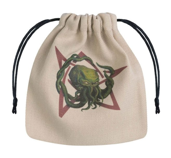 Call of Cthulhu Dice Bag beige & multicolor