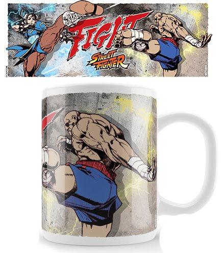 Street Fighter Mug Chun-Li Fight Sagat