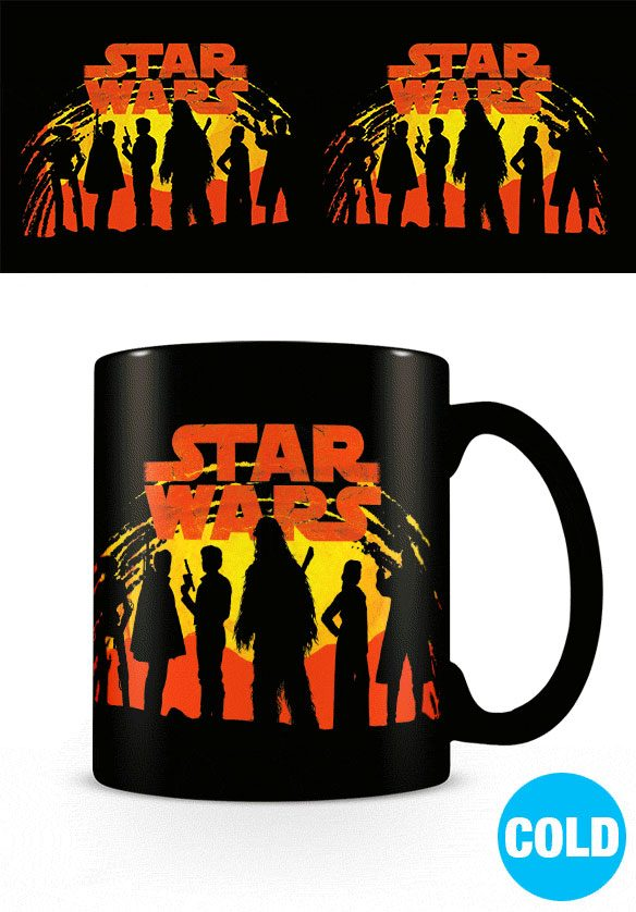 Star Wars Solo Heat Change Mug Sunset