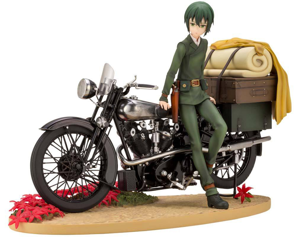 Kino's Journey ARTFXJ Statue 1/10 Kino Special First Edition 19 cm