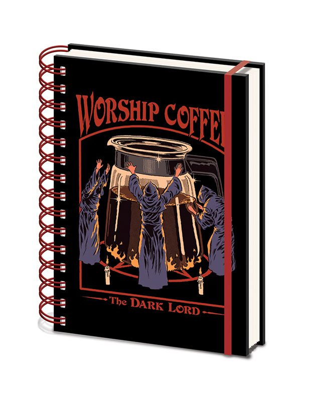 Steven Rhodes Wiro Notebook A5 Worship Coffee