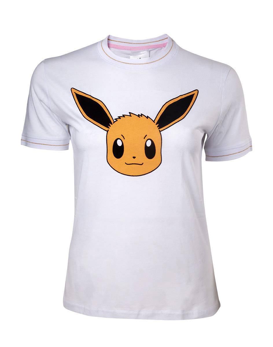 Pokemon Ladies T-Shirt Eevee  Size L
