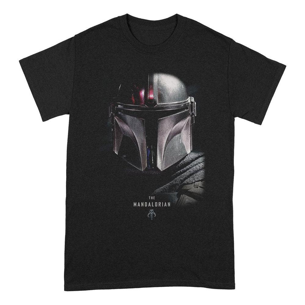 Star Wars The Mandalorian T-Shirt Bounty Hunter Size S