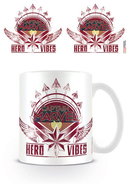 Captain Marvel Mug Hero Vibes