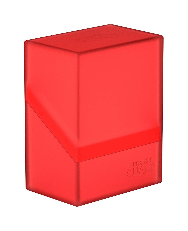 Ultimate Guard Boulder™ Deck Case 60+ Standard Size Ruby