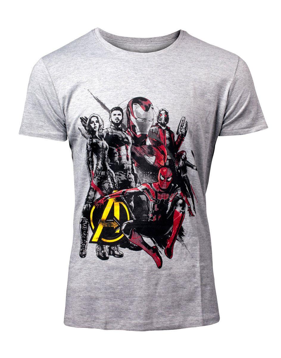Avengers Infinity War T-Shirt Avengers Character  Size S