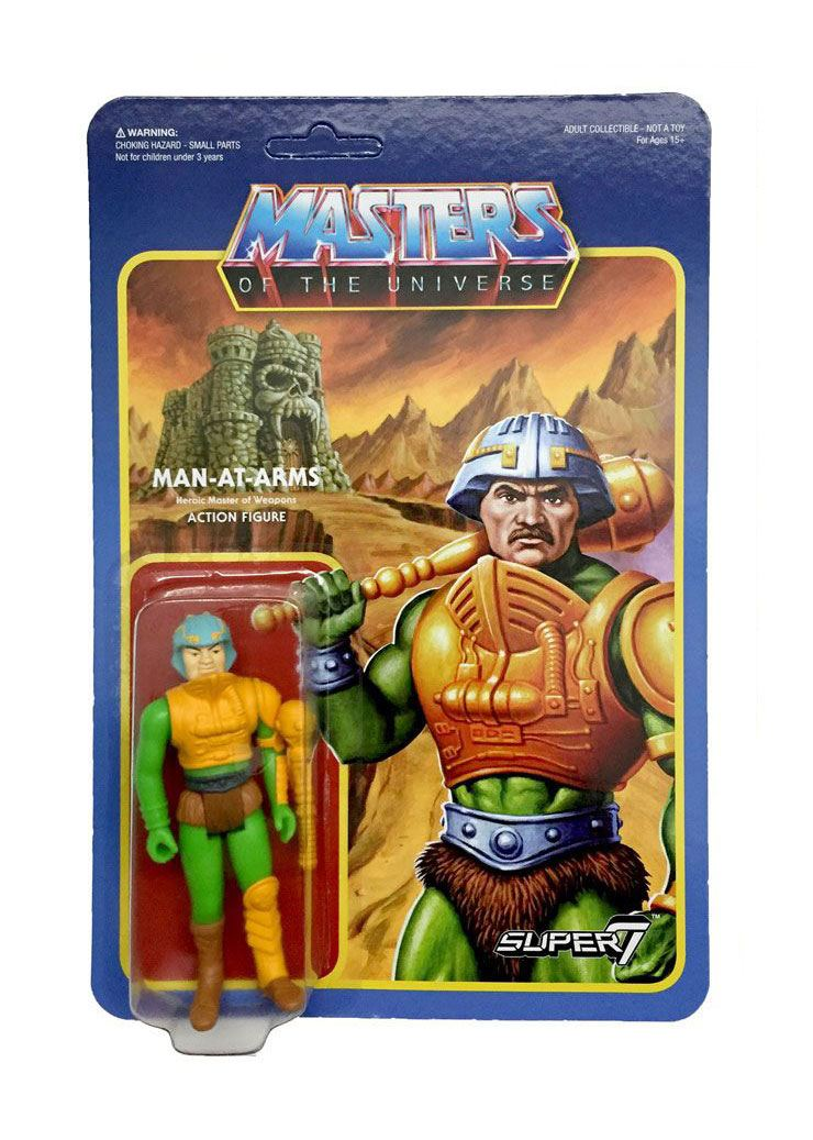 Masters of the Universe ReAction Action Figure Wave 2 Man At Arms 10 cm