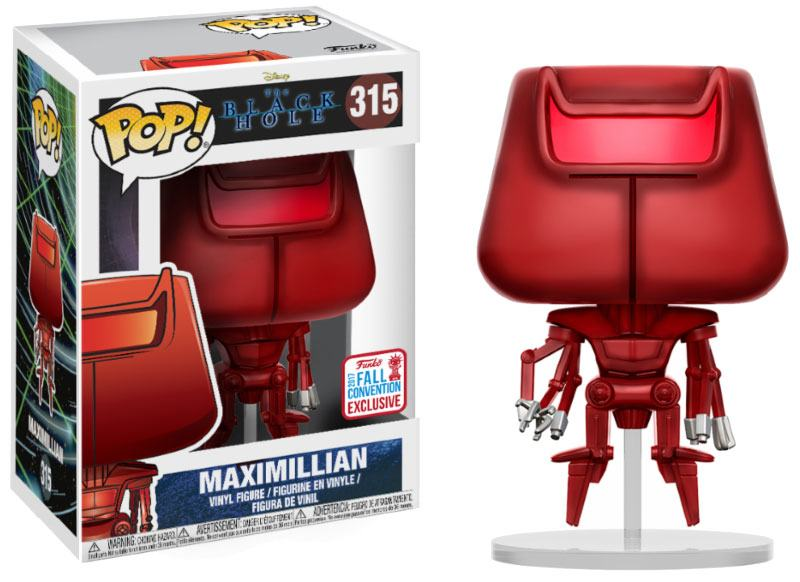The Black Hole POP! Movies Vinyl Figure Maximillian 2017 Fall Convention Exclusive 9 cm