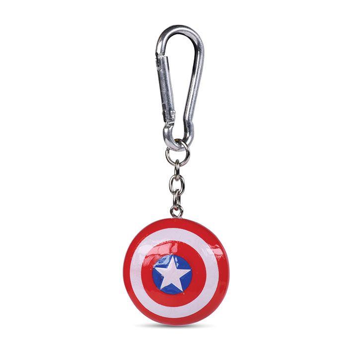 Captain America 3D-Keychains Shield 4 cm Case (10)