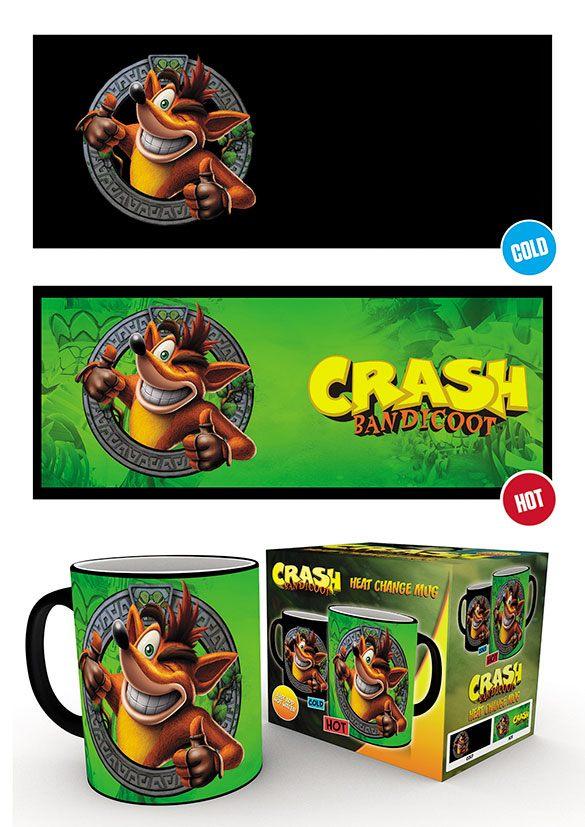 Crash Bandicoot Heat Change Mug Crash